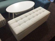 Who Sells Umd Storage Bench Storage Box Storage Ottoman Type C Extra Large Cream White 120L 40D 40H Cm Cheap
