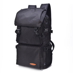 Discount Outdoor Sports Waterproof Large Capacity Camping Bag Nylon Travel Backpack Black Intl Oem On China