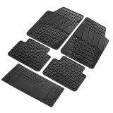 Packy Poda Fm Pp8605 Bk Rubber Car Floor Mat 5Pcs Set Black Lowest Price