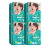Pampers Baby Dry Diapers Large 46S X 4 184Pcs Local Stock On Singapore