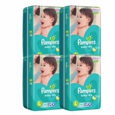 The Cheapest Pampers Baby Dry Diapers Large 46S X 4 184Pcs Local Stock Online