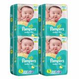 Pampers Baby Dry Diapers Small 58S X 4 232Pcs Local Stock On Singapore