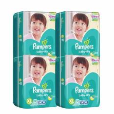 Buy Pampers Baby Dry Diapers X Large 40S X 4 160Pcs Local Stock On Singapore