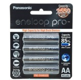 Review Panasonic Eneloop Pro Bk 3Hcce 4Bt Rechargeable Ni Mh Battery X 2 Packs 8 Pieces Panasonic