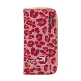 Where Can I Buy Passport Cover Travel Wallet Document Passport Holder Organizer Cover Women Business Card Id Bag Pink Leopard