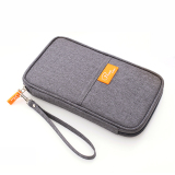 Wholesale Passport Wallets Protect Multi Function Waterproof Bag For Travel Business Gray