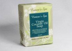 Best Offer Nature S Spa Virgin Coconut Oil Natural Bar Soap 100G