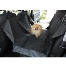 Retail Pet Dog Car Mat Seat Cover Puppy Safety Waterproof Mats Hammock Protector Rear Back Black