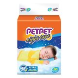 Best Petpet Night Tape Diapers Pack L50 X 3 Packs