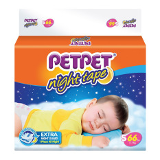 Top Rated Petpet Night Tape Diapers Pack S66 X 3 Packs