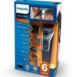 Promo Philips 9 In 1 Mens Grooming Kit Qg3342 Waterproof Beard Trimmer With Hair Clipper Moustache Stubble Nose Hair And Eyebrow Trmmers 2 Years Worldwide Guarantee