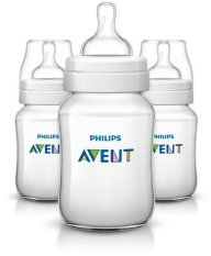 Review Philips Avent Classic Plus Bpa Free Polypropylene Bottles Clear 9 Ounce Pack Of 3 Philips Avent
