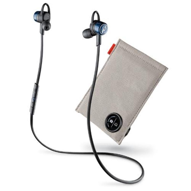 Plantronics BackBeat GO 3 Bluetooth Earbud (Cobalt Black) with Charge Case Singapore