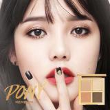 Sale Pony Effect ♥ New Easy Glam Eyeshadow 3 Quad 03Brownbloom Pony Memebox Eyeshadow South Korea