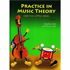 Practice In Music Theory For The Little Ones - Book B - Piano Book - Music Book - Absolute Piano - The Music Works Store MB1