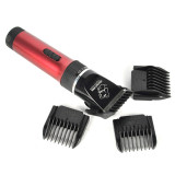 Sale Professional Cat Dog Hair Trimmer Rechargeable 12W Electric Grooming Pet Clippers Animals Shaver Haircut Machine Ac110 240V Red Intl Oem Branded