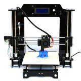 Discounted Prusa I3 3D Desktop Printer Diy High Accuracy Cnc Self Assembly Black
