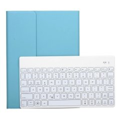 Review Pu Case Wireless Bluetooth Keyboard Ultra Slim Aluminum With Backlit For Ipad Air 2 Blue Export Not Specified On China