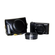 Best Pu Leather Camera Case For Sony Dsc Hx90V Wx500 Black Export