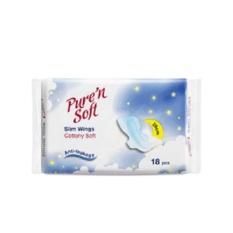 Pure N Soft Slim Wings Night 290mm 18's