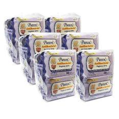 Best Pureen Antibacterial Hygiene Wipes 8X30 S X 6 Packs