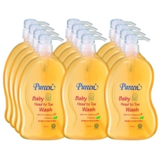 Price Comparisons Pureen Baby Head To Toe Wash 750Ml X 12 Bottles Carton Pack