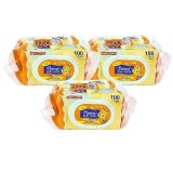 Sale Pureen Baby Wipes Fragrance Free 2X100 S X 3 Packs Online On Singapore