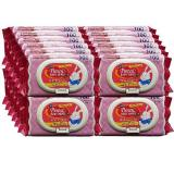 Pureen Baby Wipes Scented Pink 100 S X 24 Packs Singapore