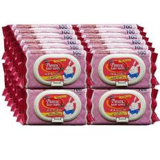 Pureen Baby Wipes Scented Pink 100 S X 24 Packs Best Price
