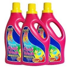 Best Buy Pureen Kiddiwash Detergent 2 Litre X 3 Bottles