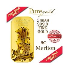 Where To Shop For Puregold Singapore 5G Merlion Sea Gold Bar 999 9