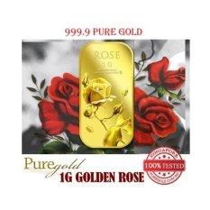 Sale Puregold 1G Small Rose Gold Bar 999 9 Singapore
