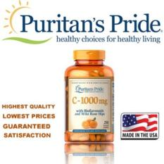 How To Buy Puritan S Pride Vitamin C 1000 Mg With Bioflavonoids Rose Hips 1000 Mg 250 Caplets Item 000693