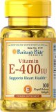Buy Puritan S Pride Vitamin E 400 Iu 400 Iu 100 Softgels Item 001770 Puritan Original