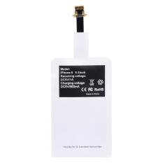 Qi Standard Wireless Phone Charging Receiver For Iphone6 Iphone6 Plus More White Cheap