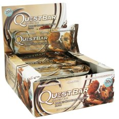Quest Nutrition Bars (double Chocolate Chunk) Box Of 12 By The Fitness Grocer.