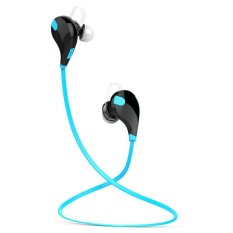 Buy Qy7 Wireless Bluetooth Headphones For Running Blue Online China