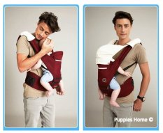 Lowest Price Red Baby Carrier Hip Seat Safety Portable Foldable Slings Infant New Born Children Boy G*Rl Travel