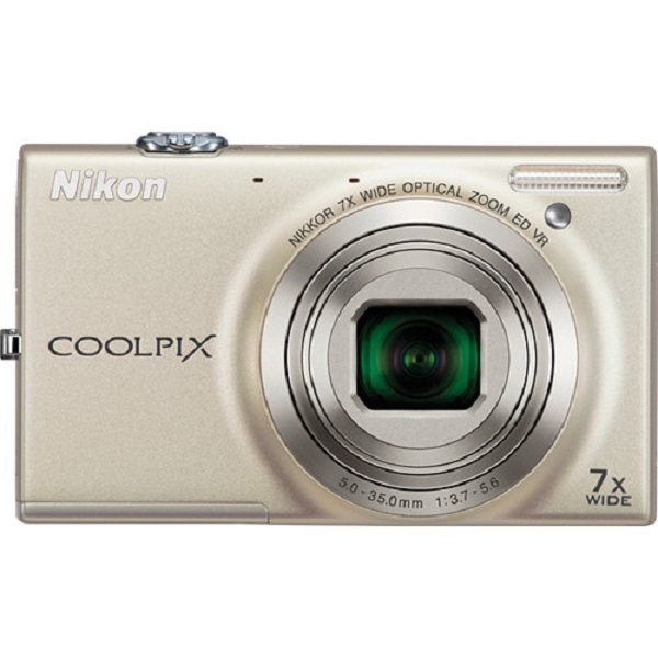 Refurbished Nikon Coolpix S6100 16 Mp Digital Camera With 7X Nikkor Wide Angle Optical Zoom Lens And 3 Inch Touch Panel Lcd Silver Export Promo Code