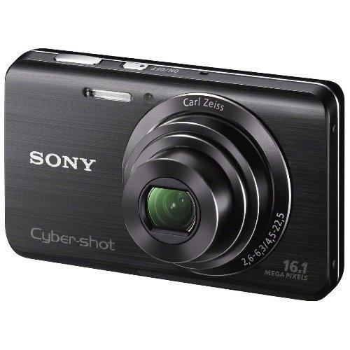 Refurbished Sony Cyber Shot Dsc W650 16 1 Mp Digital Camera With 5X Optical Zoom And 3 Inch Lcd Black Export On Line