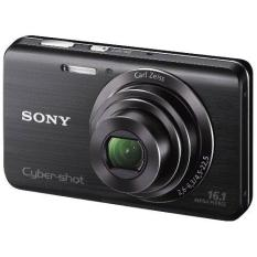 Price Refurbished Sony Cyber Shot Dsc W650 16 1 Mp Digital Camera With 5X Optical Zoom And 3 Inch Lcd Black Export Sony Singapore