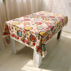 Rondaful 1X F:140 200 Lacework Dining Tablecloth Multi Functional Table Cloth For Party Picnic Outdoor Reviews