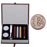 Cheapest Rondaful E Initial Letter Vintage Alphabet Wax Badge Seal Stamp W Wax Kit Set Letter A Z Optional Online