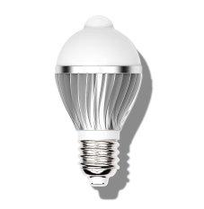 Retail Price Roybens Infrared Motion Detection Sensor Light Sensor Led Bulb Auto Switch Energy Saving Lamp E27 5W Warm White