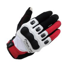 RS-TAICHI RST412 Winter Warm Waterproof Windproof Protective Gloves White/Red