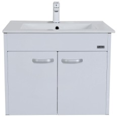 Sale Rubine Bow Bathroom Basin With 60Cm Cabinet White Rbf1064D2 Wh Rubine Branded
