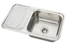 Rubine Jumbo 1 Bowl 1 Drainer Reversible Sink Jux 611 Price