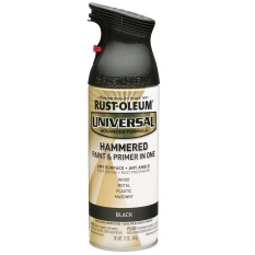 Compare Price Rust Oleum All Surface Spray Paint 12Oz Black Hammered On Singapore