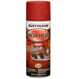 Rust Oleum High Heat Spray 12Oz Flat Red Sale
