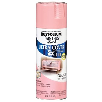 Rust-Oleum Painters Touch Ultra Cover 120z (Candy Pink Gloss)\t\t